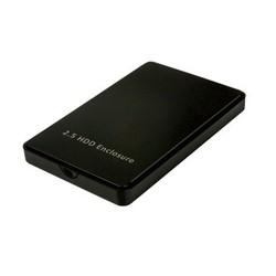 USB 3.0 2.5' SATA HDD Enclosure, Plastic Housing, Tool-free