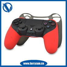 2015 High quality Silicon Cover For Ps4/Silicone Skin For Ps4/Silicone Case For Ps4 Controller