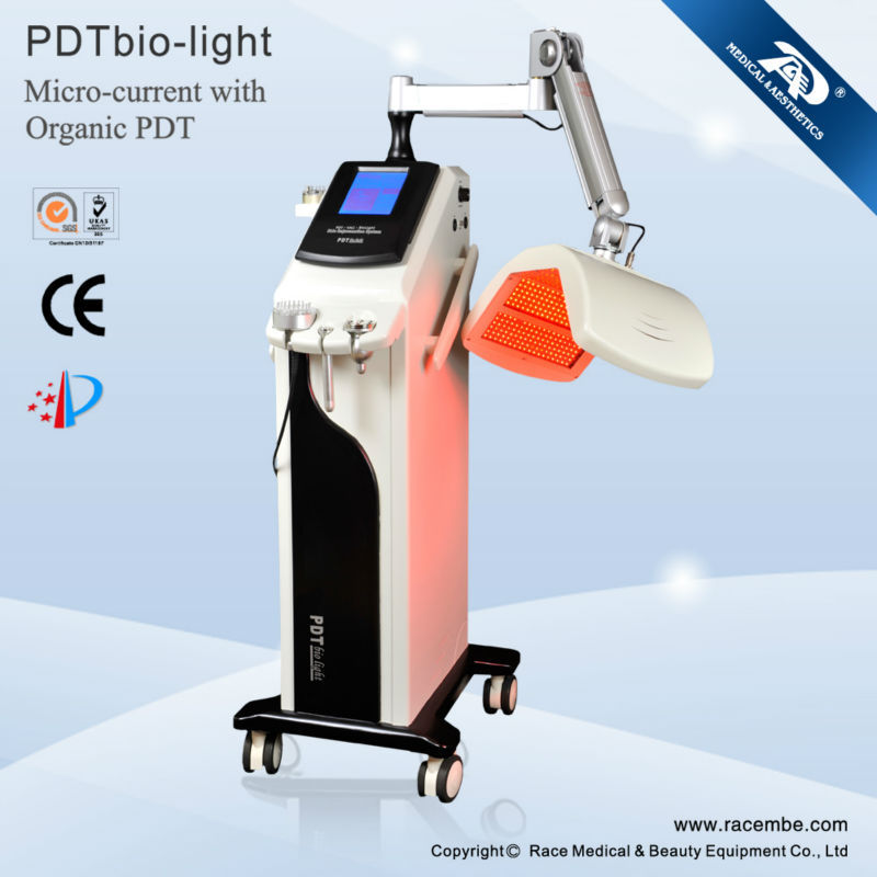 Led Red N Blue Light Therapy Machine For Face Rejuvenation