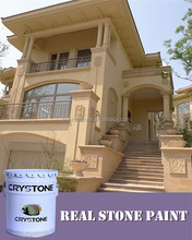 Villas,government building coating waterproof and water based stone texture wall paint