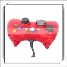 Video Game Wired Controller Pad for Xbox 360 Red