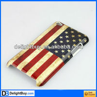 New U.S. Flag Design Hard Skin Case Cover for Apple iPod Touch 4