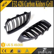 4 Series F32 Carbon Fiber Kidney Grills For BMW F32 428i 435i 2014-2015