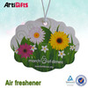 Cheap wholesale car fragrance paper air freshener