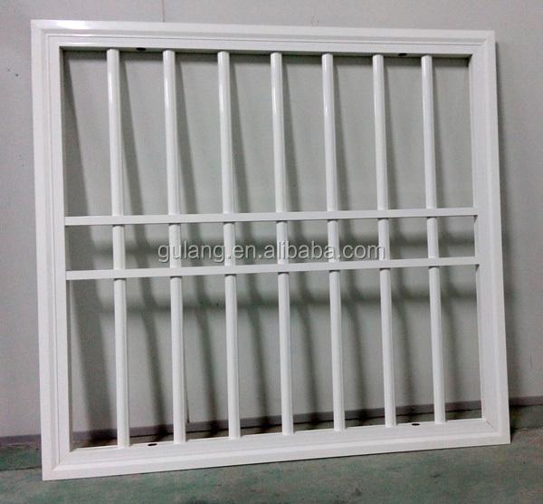 Modern simple iron window grill design buy window grill for Window design grill simple