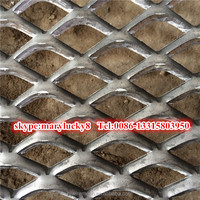Alibaba supplier 1/2-081 Raised Expanded metal sheet