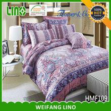 italian design bedroom set/disposable mattress cover/cotton duvet cover