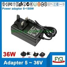 OEM ODM 15v 2a ac dc adapter 30w with input 100 - 240v ac and us eu uk au plug