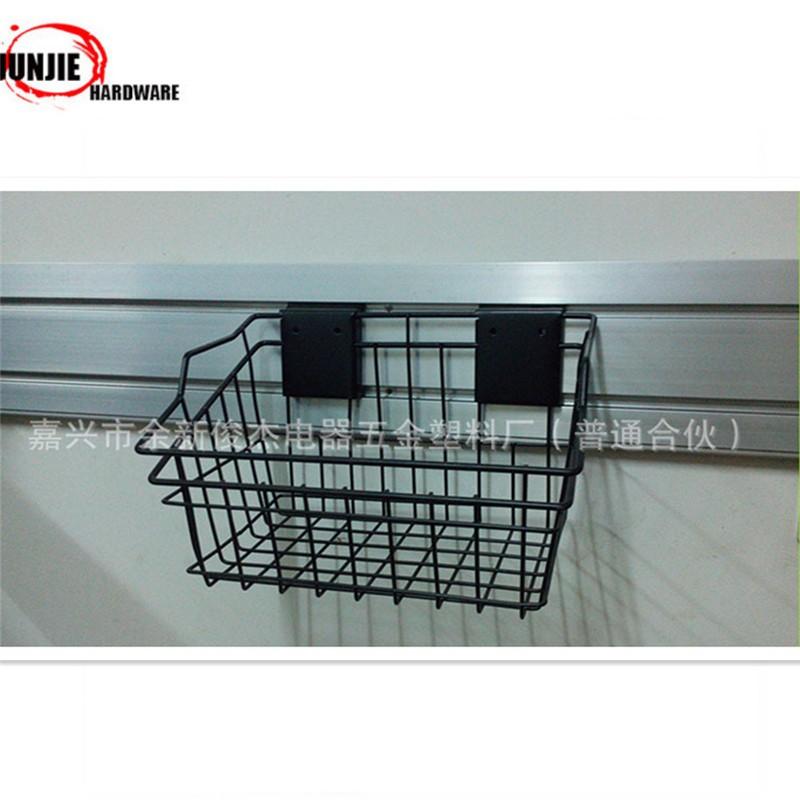 Heavy Duty Deep Wire Mesh Garage Wall Hanging Storage Basket - Buy ...