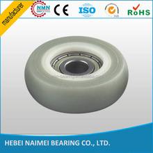 626zz bearing plastic shower door roller wheel