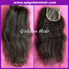 Factory wholesale price middle parting/free parting lace closure made in Qingdao