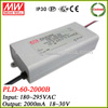 Meanwell PLD-60-2000B 60w led constant current driver