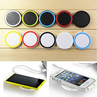 QI Wireless color Charger Charging Pad for Samsung S3 S4 S5 Note 3 2 5