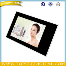 "19"" screen wall, advertising display monitor, wifi lcd video player"