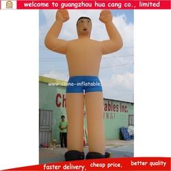 Giant inflatable figure, cartoon action figures, advertising inflatable figure