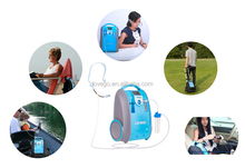 Lovego portable oxygen concentrator with battery
