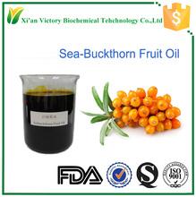 Free sample organic seabuckthorn fruit oil