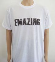 wholesale men's clothing, white t shirt printing