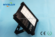 long life expectancy 20w SMD led flood light with good sealing effect IP66 waterproof grage applied in swimming pool,hotel