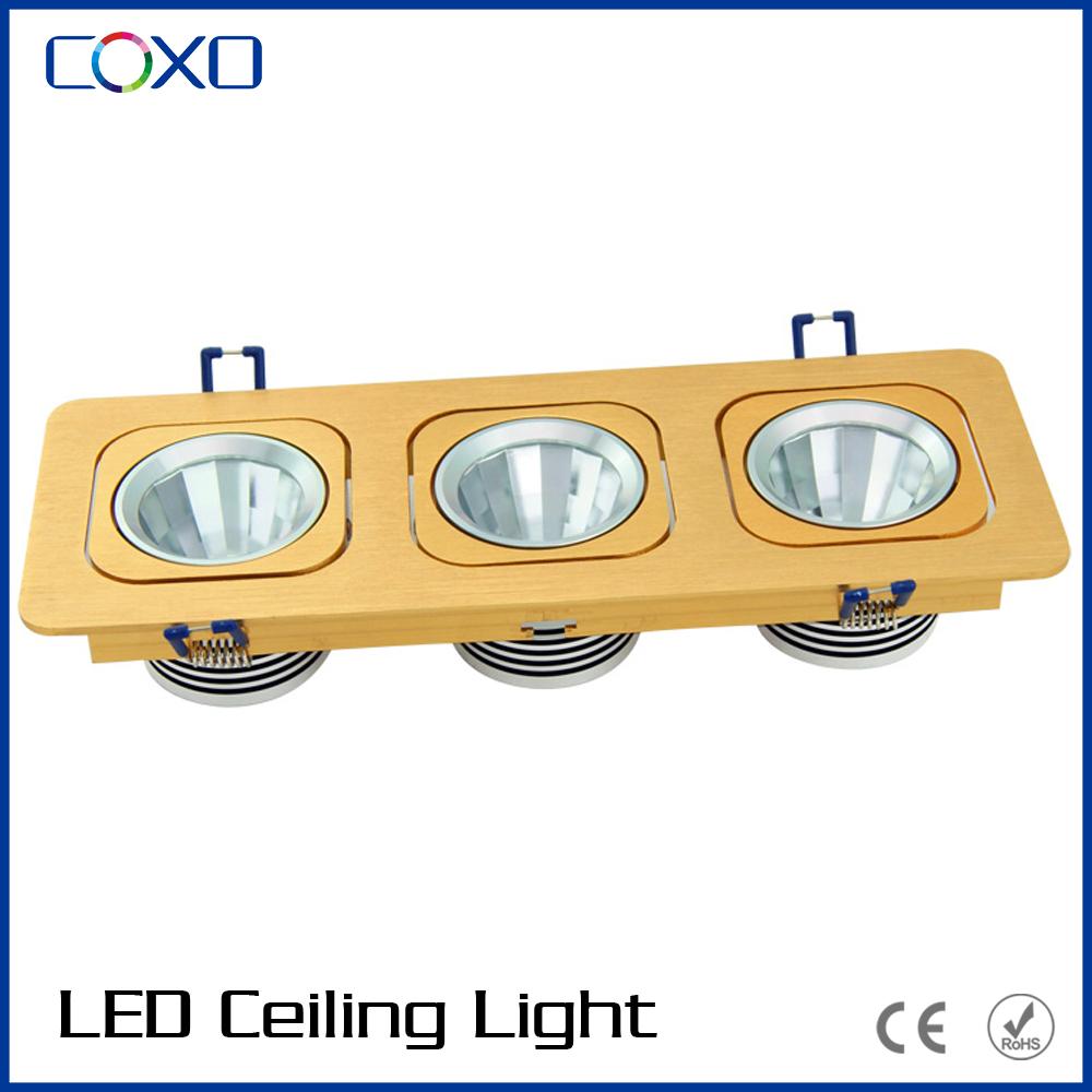 Glass Cover 15 Watt Ceiling Recessed Cob Led Harga Lampu