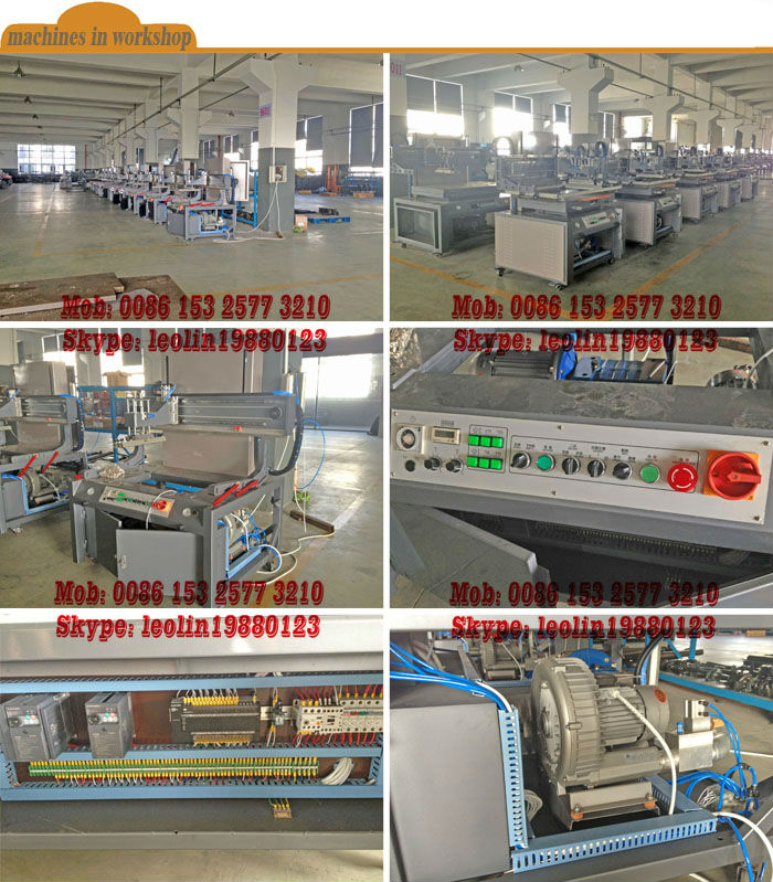 2014 Advanced automatic tshirt screen printing machine