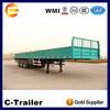 3 axles cargo trailer truck chassis,transportation semi trailer price good