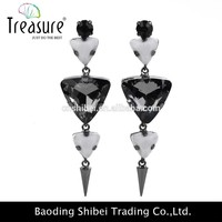 FASHION antique drop jewelry stainless steel earring jewelry,fashion earring bulk buy from china