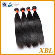 xbl 7a pelo onda recta camboyano virgen cabello lacio negro para las mujeres