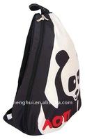 promotion cotton sling bag sports backpack