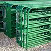 2015 hot sale decorative aluminum fence gates and steel farm gate design