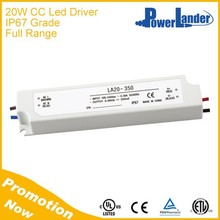IP67 Waterproof 20W 700mA Constant Current Led Driver with CE Certificate