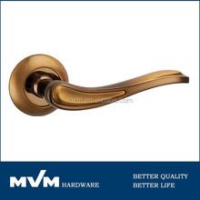 Color especial de mcf cerradura de la puerta manija para puerta de hierro A1297E9 PCF