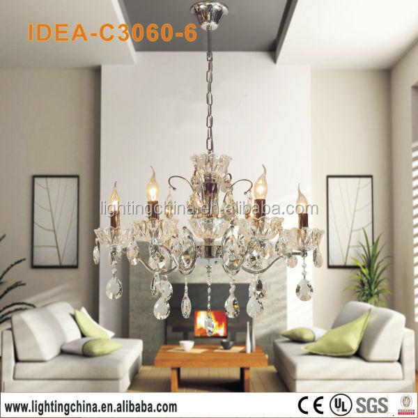 crystal 3 tier modern living room chandelier buy amber