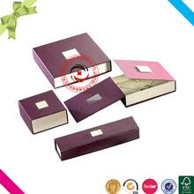 Luxury elegant jewelry custom packaging small quantity