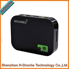High quality!! dual core tv box Q5 Android 4.2 Mini PC A20 Dual Core Tv Box 1GB ram 8G rom free movie film android tv box