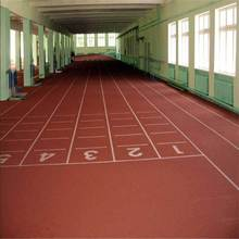 Synthetic PU running track