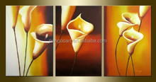 Modern pop flower canvas oil painting,wall picture for living room,flower decoration painting
