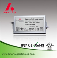2 years warranty constant current led driver with Aluminum housing