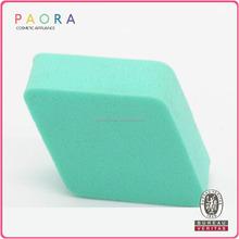 Fashion design Cosmetic Cheap powder puff latex square sponge