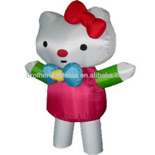 Wholesale Advertisement Inflatable Costume Inflatable Cat Model