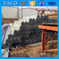 Tianjin galvanized pipe ! 100mm diameter steel pipe galvanized erw steel pipes