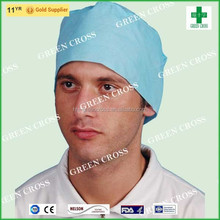 Comfortable and breathable PPE Spunlace Surgical Cap large quantity supply