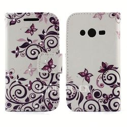 Elegant colorful print Diamond Leather for Utoh 351D Flip Cover with Stand Case