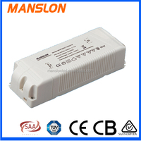 waterproof led driver for downlight streetlight 50w 1050ma led driver