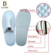 Trade Assurance product new winter fanshion 5 stars wholesale disposable 100 cotton hotel man slipper