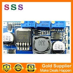LM2596 adjustable constant current and voltage with LED driver power supply for lithium-ion battery low thermal efficiency