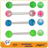 TR01074 cool piercing crazy tongue rings