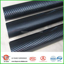 Hot Promotional carbon fiber 3k plain round tubes