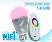 Wifi Led Bulb Android and IOS Apps Support Smart Phone Control Light