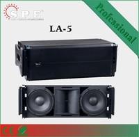 SPE AUDIO line array speaker stand LA-5 line array Dual 10 inch line array price